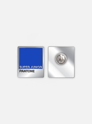 [MD &P!CK] SUPER JUNIOR  SM ARTIST + PANTONE™ DIY PIN