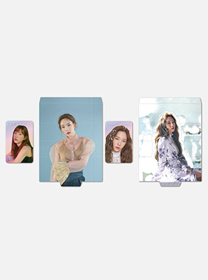 TAEYEON HOLOGRAM PHOTO CARD SET - Four Seasons
