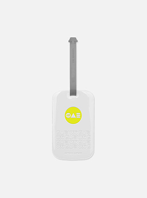 NCT 127 TYPOGRAPHIC LUGGAGE TAG with ALIFE