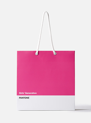 [MD &P!CK] GIRLS' GENERATION  2019 SM ARTIST + PANTONE™ SHOPPING BAG SET