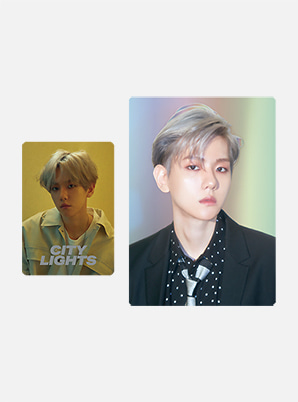 BAEKHYUN HOLOGRAM CARD HOLDER SET - City Lights