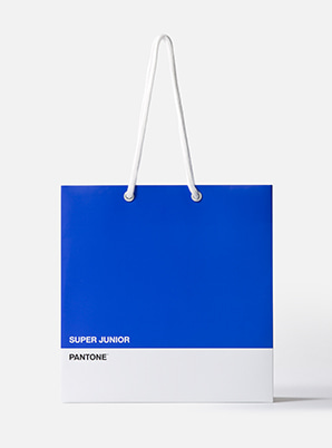 [MD &P!CK] SUPER JUNIOR  2019 SM ARTIST + PANTONE™ SHOPPING BAG SET