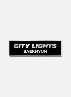 BAEKHYUN BADGE - City Lights