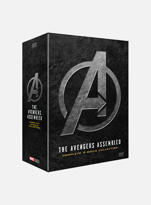 [MD &P!CK] Avengers 1-4 Movie collection DVD