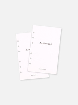 LUCALAB Archive 2020 date type refill