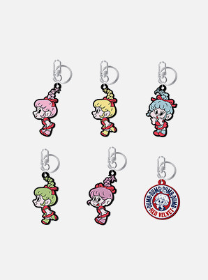 Red Velvet KEYRING - Red Velvet Loves GOOD LUCK TROLLS