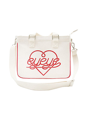 [Stylist &P!CK] EYEYE MINI ECO TOTE BAG_WHITE