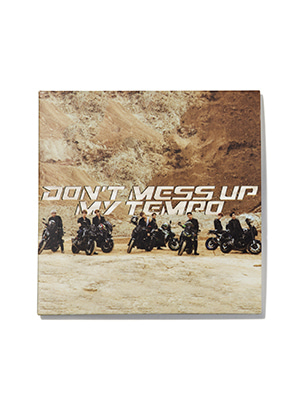 EXO LP COASTER - DON'T MESS UP MY TEMPO