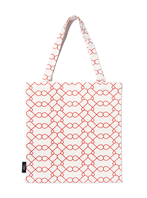 [MD &P!CK] &STORE ECO BAG LINE WHITE