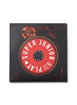 SUPER JUNIOR LP COASTER - PLAY