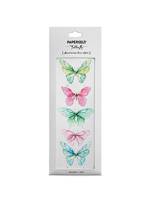 [MD &P!CK] PAPERSELF Butterfly W  TATTOO STICKER