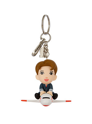 [TVXQ! &P!CK] JEJUair MAX PILOT FIGURE KEY RING