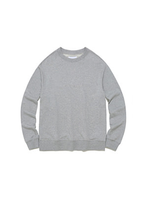 [STYLIST &P!CK] Pavement STANDARD CREWNECK IA - GREY