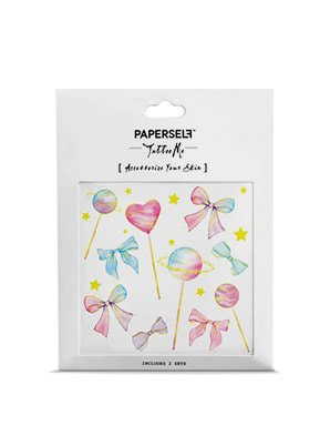 [MD &P!CK] PAPERSELF Lollipops TATTOO STICKER